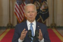Prezident Spojených států Biden o odchodu armády z Afghánistánu
