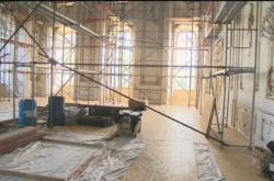 Oprava sněmovního sálu Arcibiskupského zámku v Kroměříži