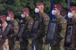 Slavnostní ukončení české mise v Afghánistánu