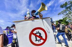 V hlavním městě Salvadoru protestovala proti zavedení bitcoinu tisícovka lidí