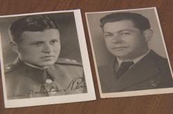 Členové výsadku S1/R Buslav Němec a František Rys