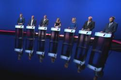 Lídři Karlovarského kraje v předvolební debatě ČT24