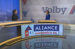 Vladimíra Vítová, předsedkyně Aliance národních sil