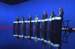Lídři Pardubického kraje o korupci v předvolební debatě ČT24