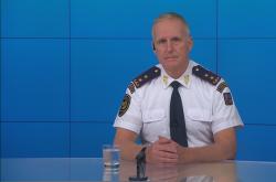Vladimír Vlček generální ředitel hasičského sboru v Interview ČT24