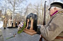 Pomník československým legionářům v Jekatěrinburgu