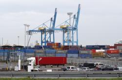 Přístav v Zeebrugge