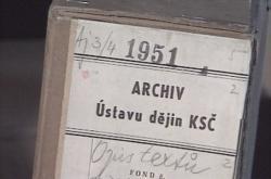 Pátrání po svazcích v archivu KSČ