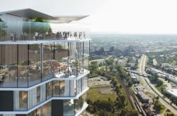 Vizualizace Ostrava Tower