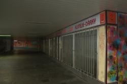 Podchod u nádraži v Českých Budějovicích