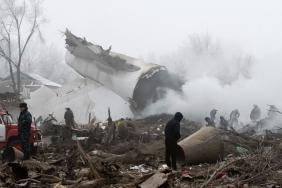 Havárie tureckého letadla v Kyrgyzstánu