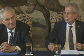 Český a rakouský prezident
