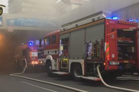 Požár hotelu Thermal