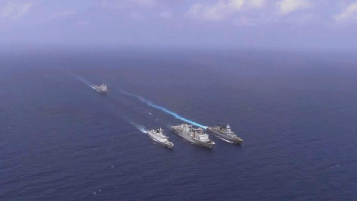 Čínské válečné lodě