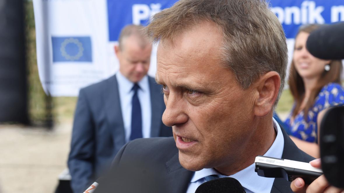Olomoucký hejtman Jiří Rozbořil (ČSSD)