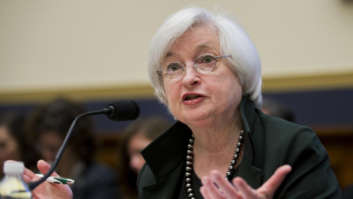 Šéfka americké centrální banky (Fed) Janet Yellenová