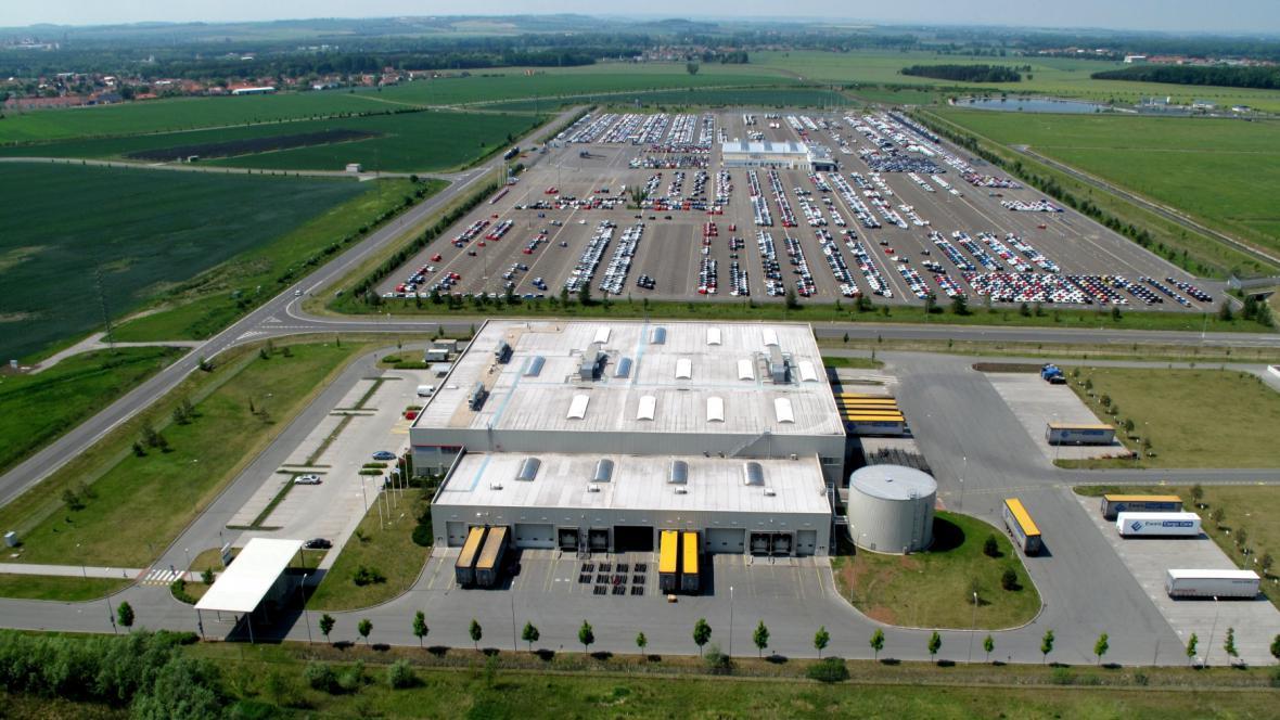 Průmyslová zóna v Ovčárech u Kolína