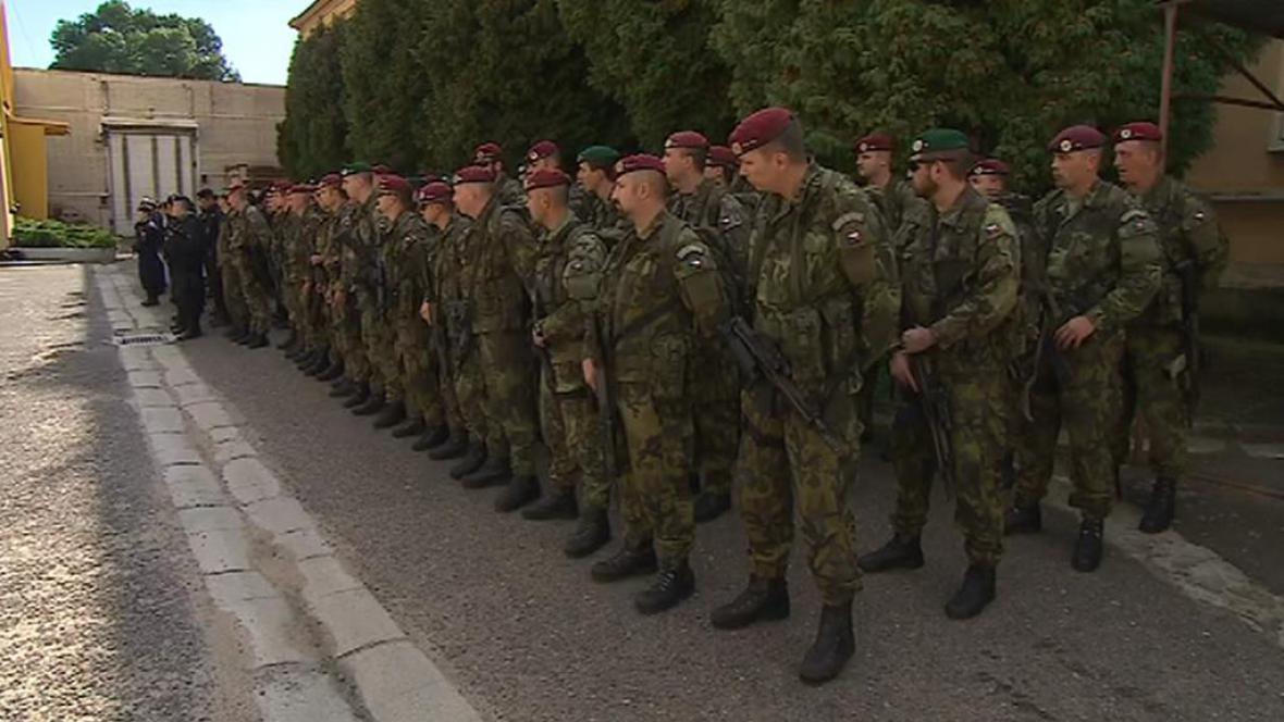 Cvičení armády v pohraničí