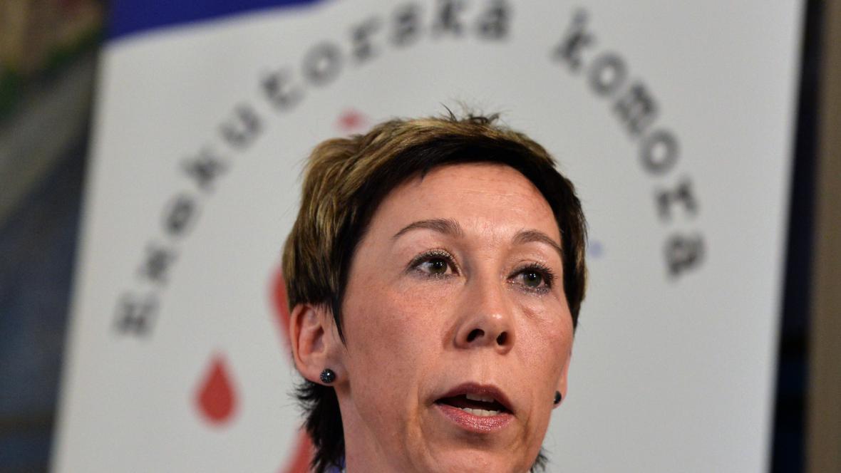 Prezidentka exekutorské komory Pavla Fučíková