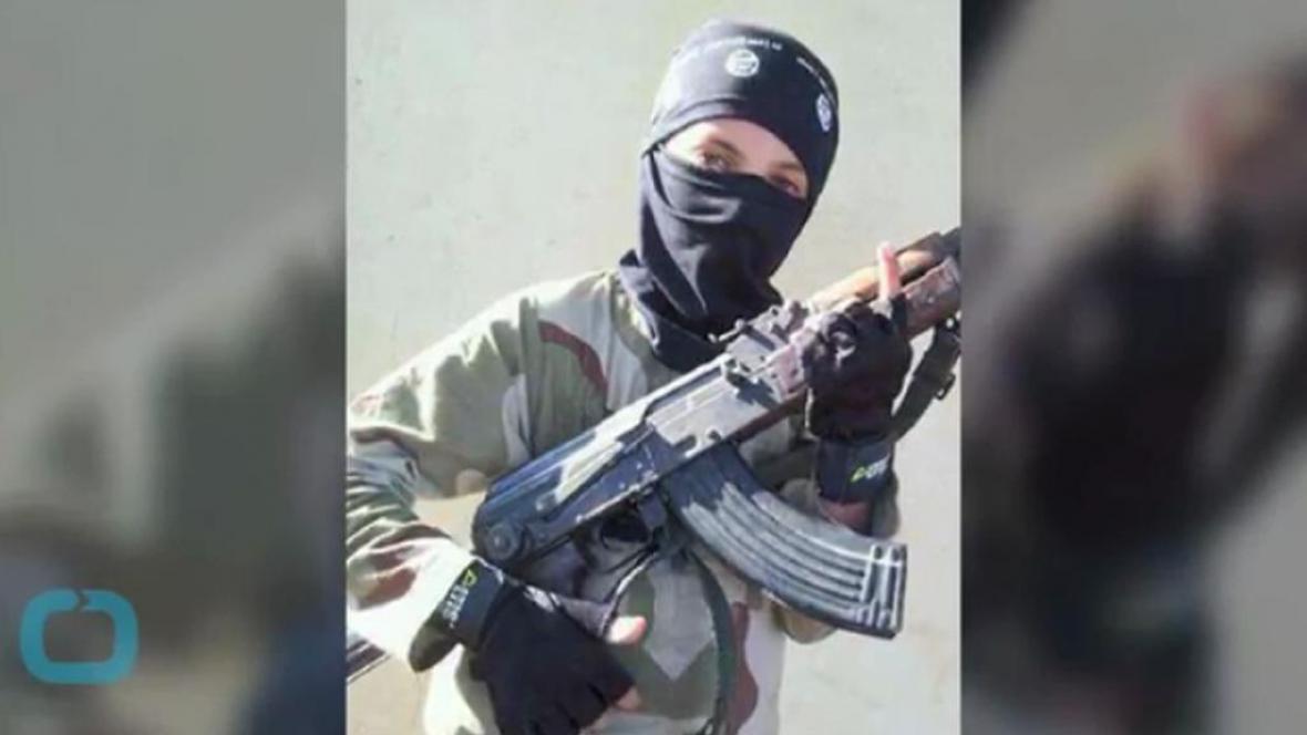 Dětský voják z řad Islámského státu