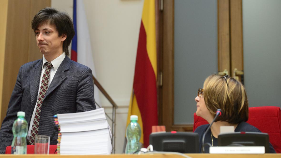 Matěj Stropnický a Adriana Krnáčová
