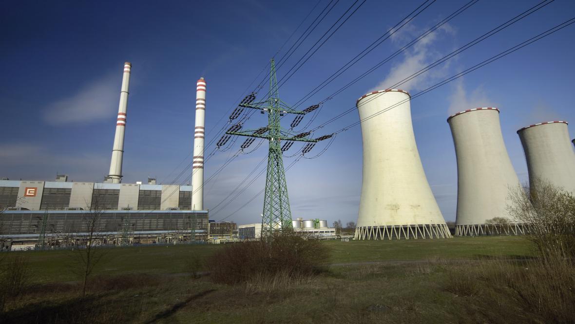 Elektrárna Dětmarovice na Karvinsku