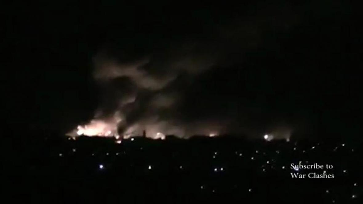 Exploze muničního skladu v Luhanské oblasti