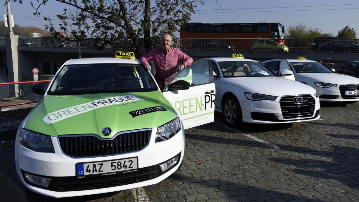 Taxi Green-Prague Radima Jančury