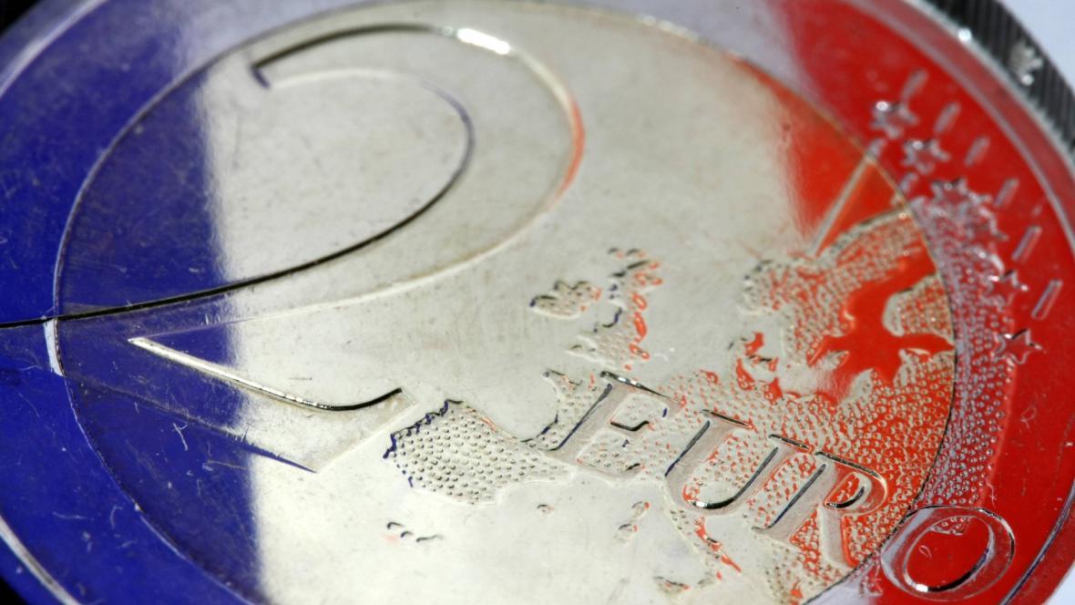 Euro ve francouzských barvách