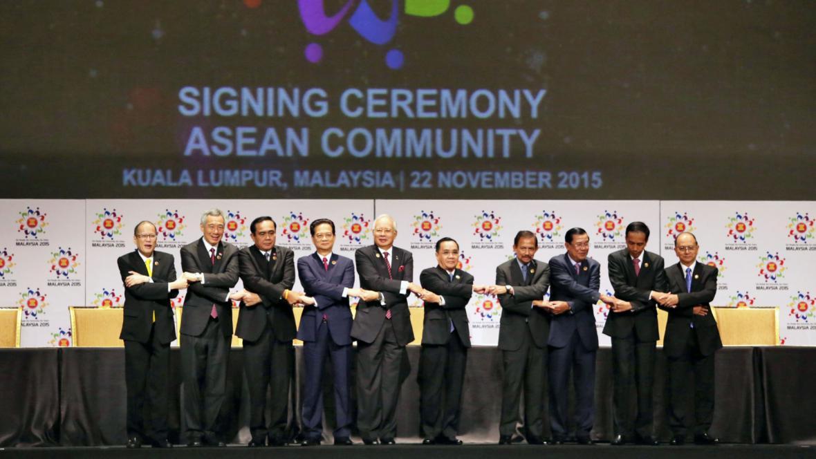 Představitelé Sdružení zemí jihovýchodní Asie (ASEAN)