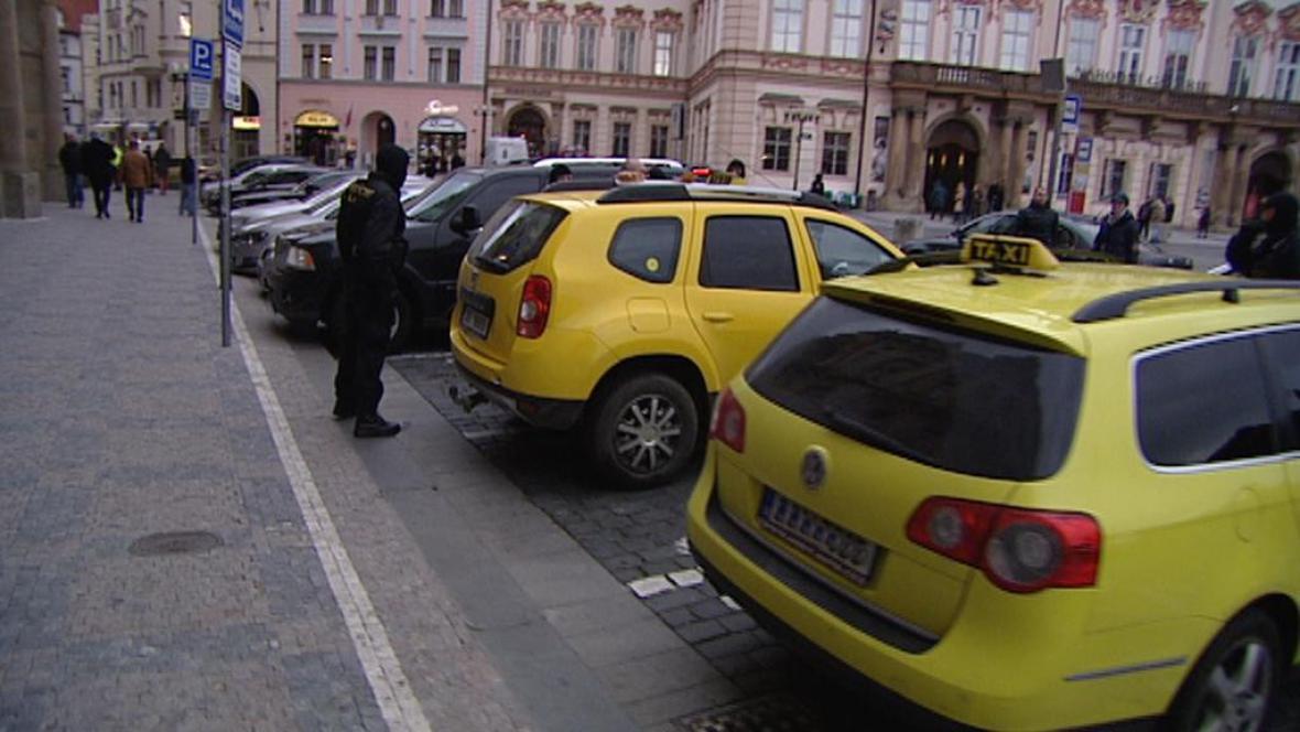 Zátah na nepoctivé pražské taxikáře