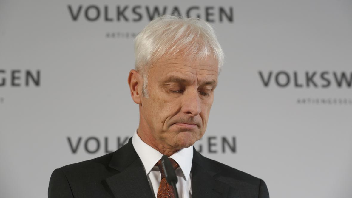 Šéf Volkswagenu Matthias Müller