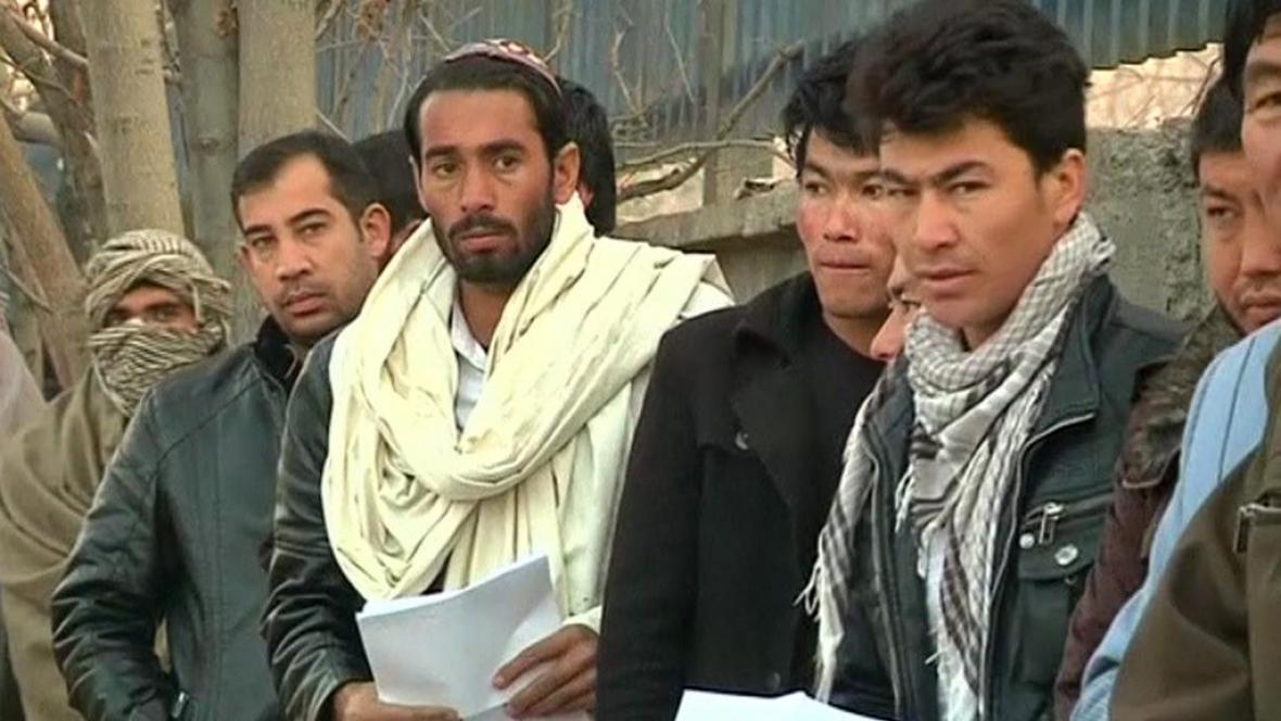 Migranti z Afghánistánu