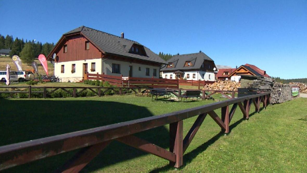 Obec na Šumavě