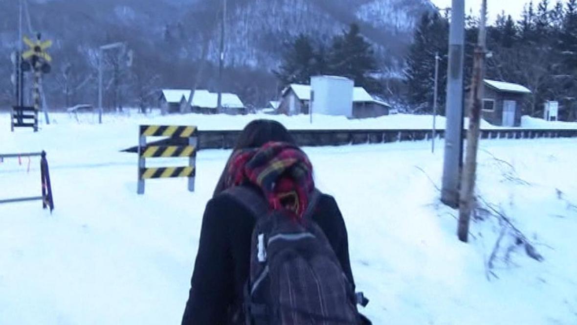 Stanice na ostrově Hokkaidó je otevřená kvůli jedné cestující