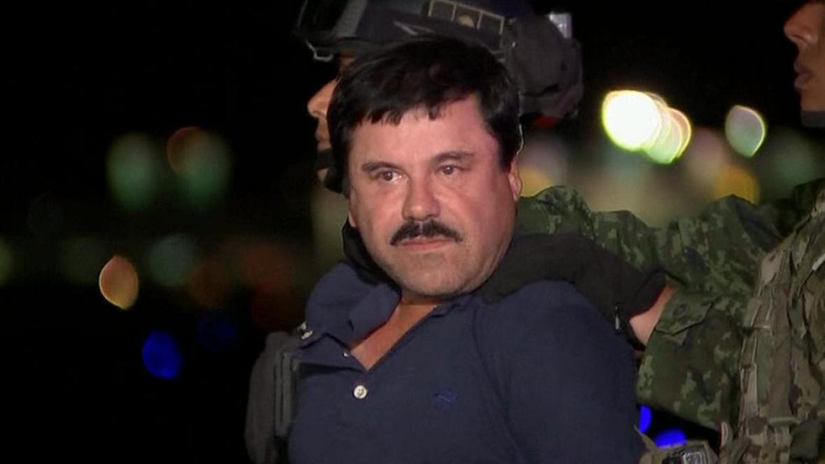 Joaquín Guzmán alias Prcek