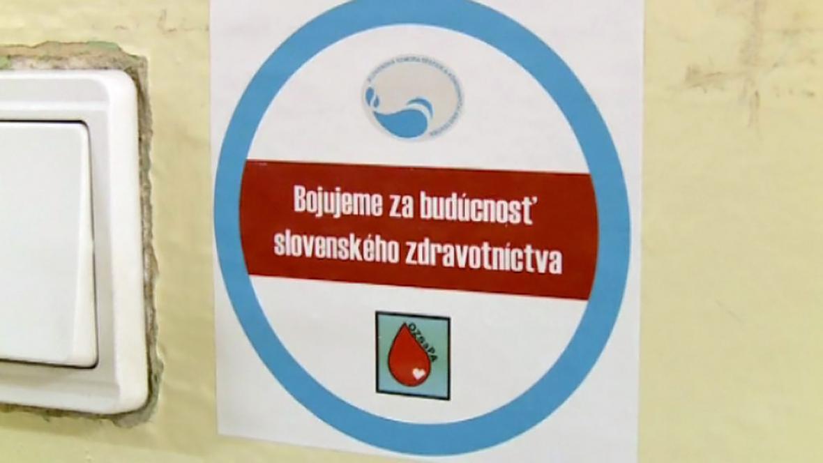 Protest slovenských zdravotních sester
