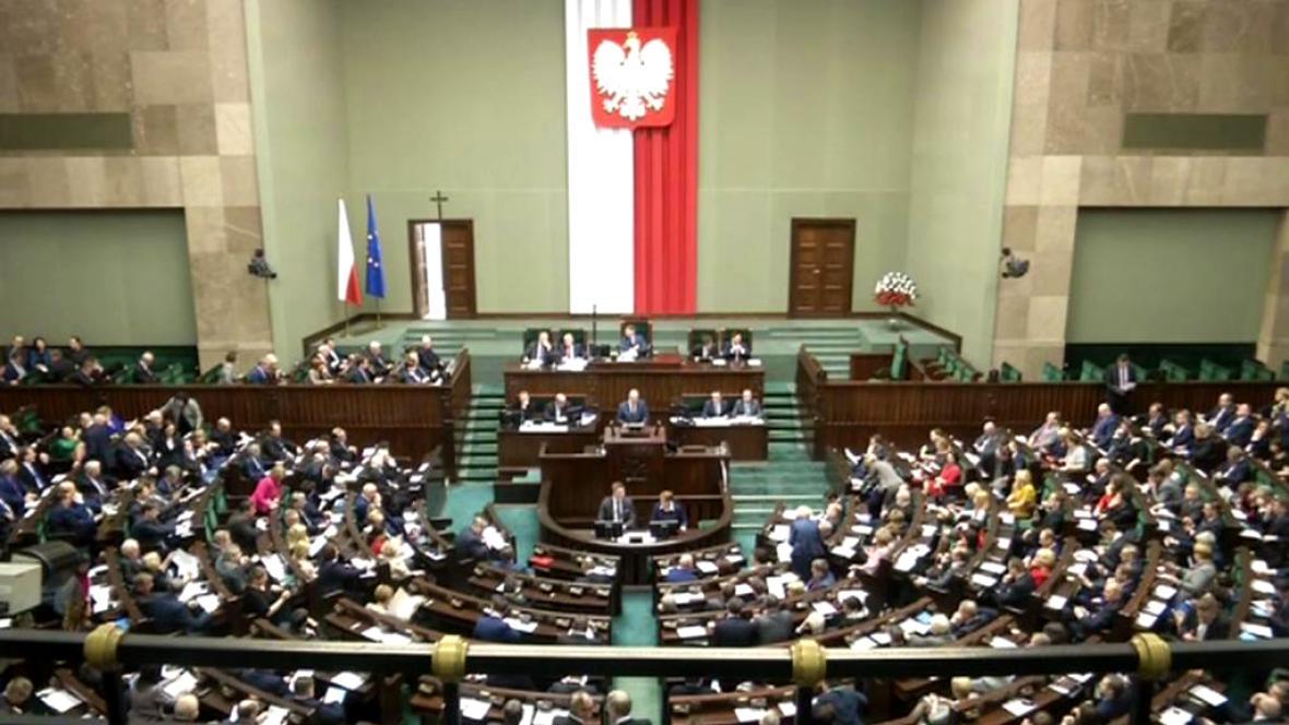 Jednání polského Sejmu