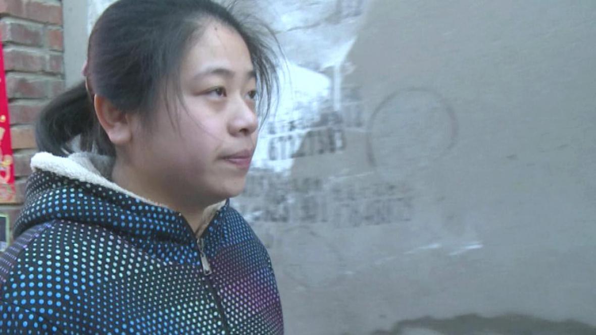 Číňanka bez identity