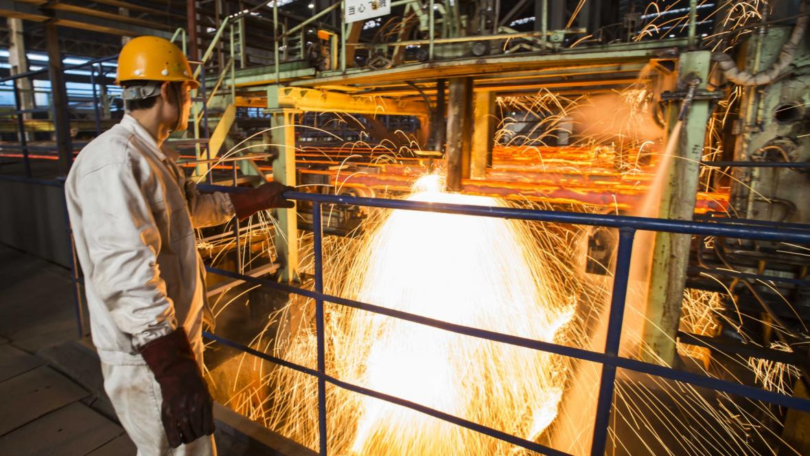 Čínská ocelárna