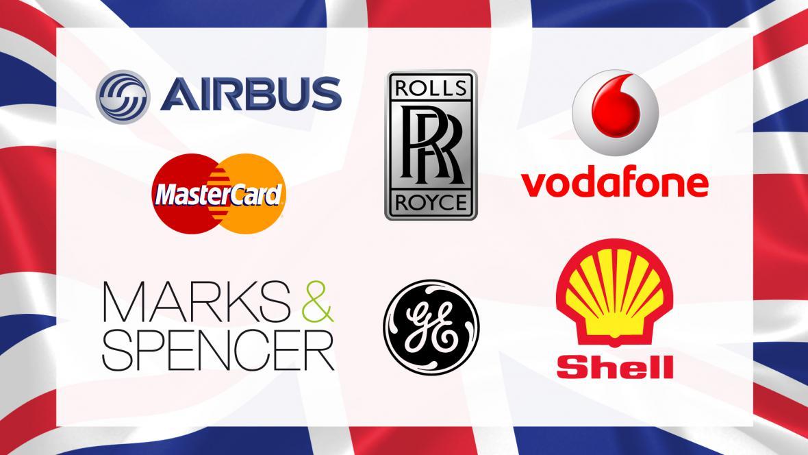 Britské firmy, které podepsaly otevřený dopis