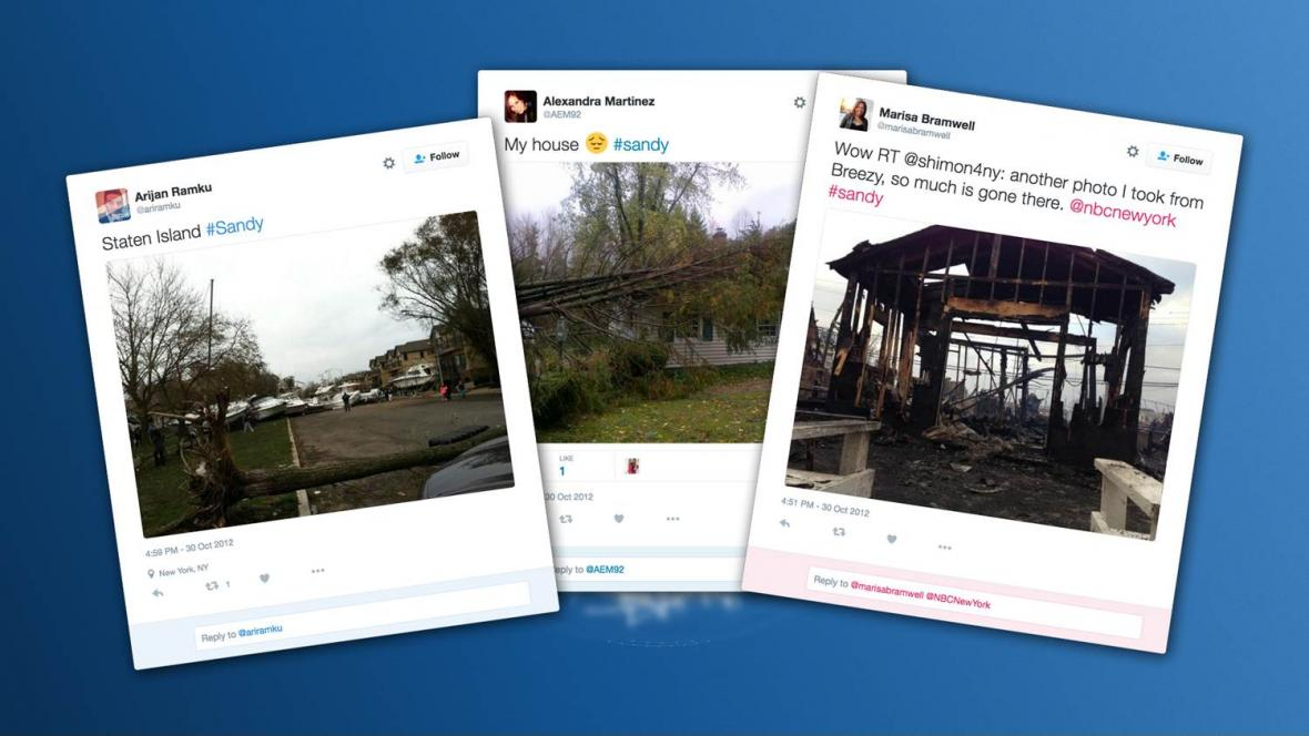 Tweety o hurikánu Sandy