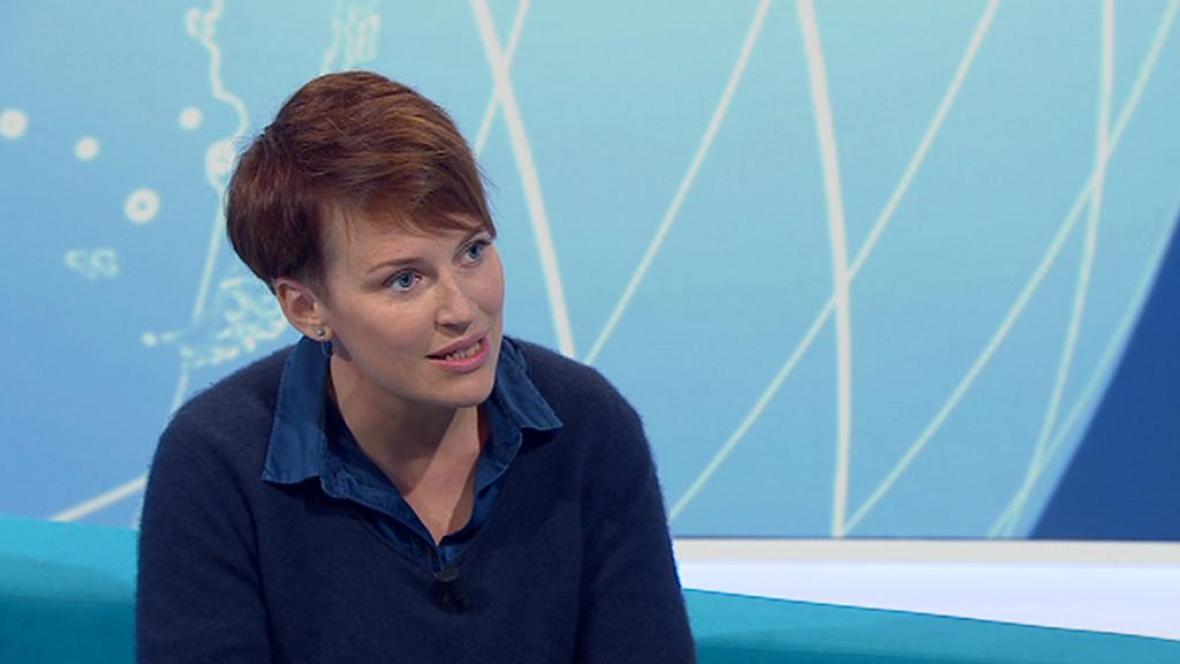 Pavla Holcová, novinářka Českého centra pro investigativní žurnalistiku