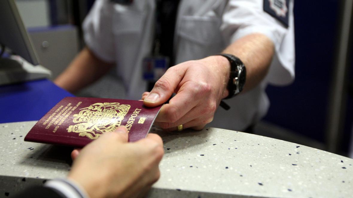 Britský pas