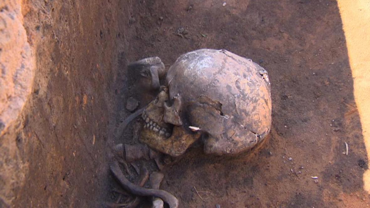 Archeologické nálezy v Kuněticích