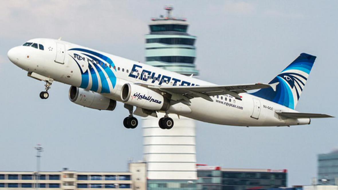 Letoun letecké společnosti EgyptAir