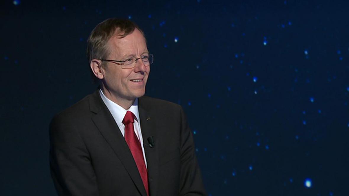 Generální ředitel Evropské vesmírné agentury (ESA) Johann-Dietrich Wörner