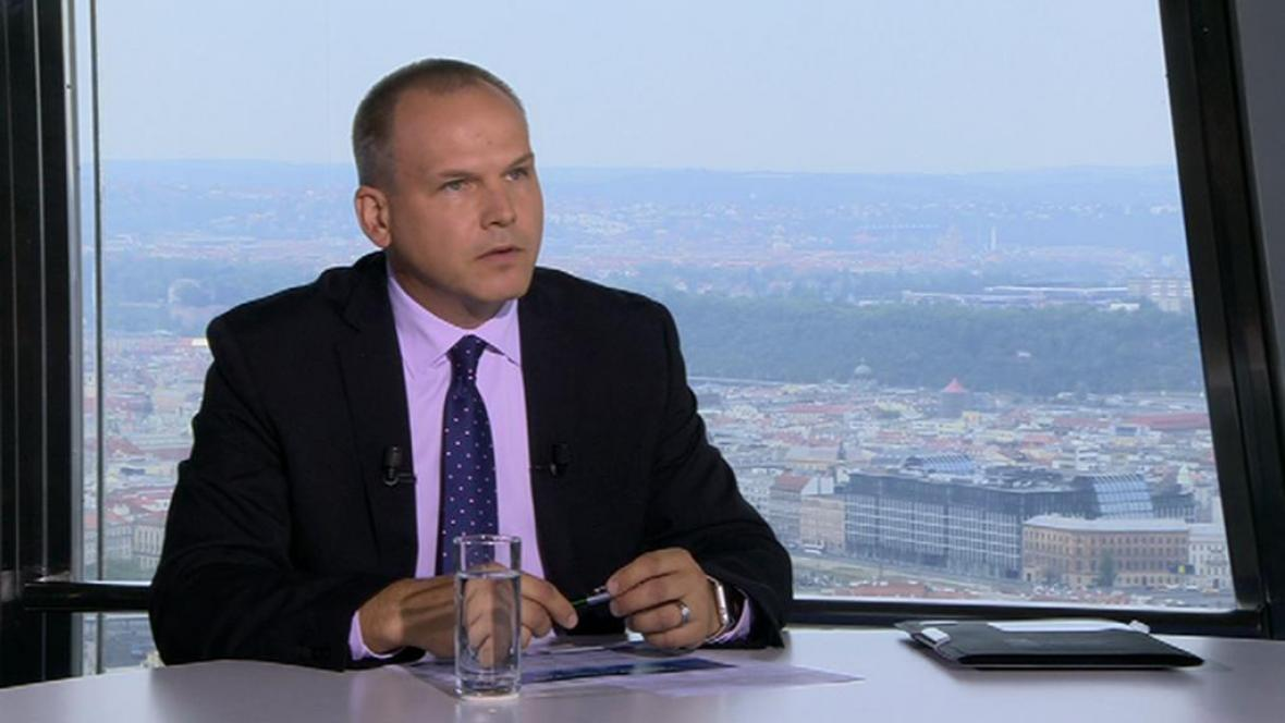 Libor Kazda, ředitel Finančního analytického útvaru MF ČR