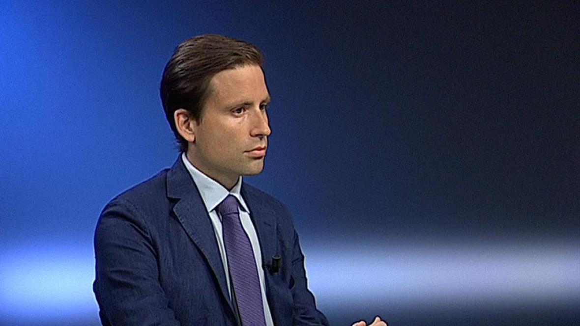 Hlavní ekonom investiční společnosti Roklen Lukáš Kovanda