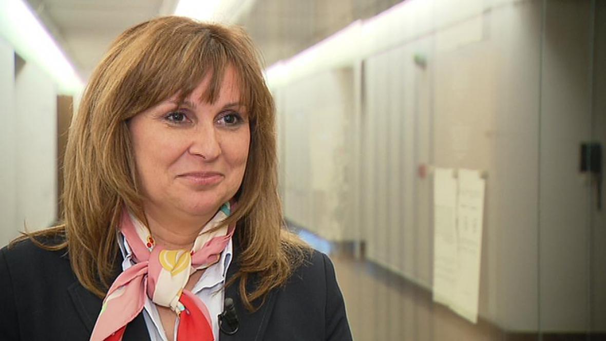Poslankyně Kristýna Zelienková